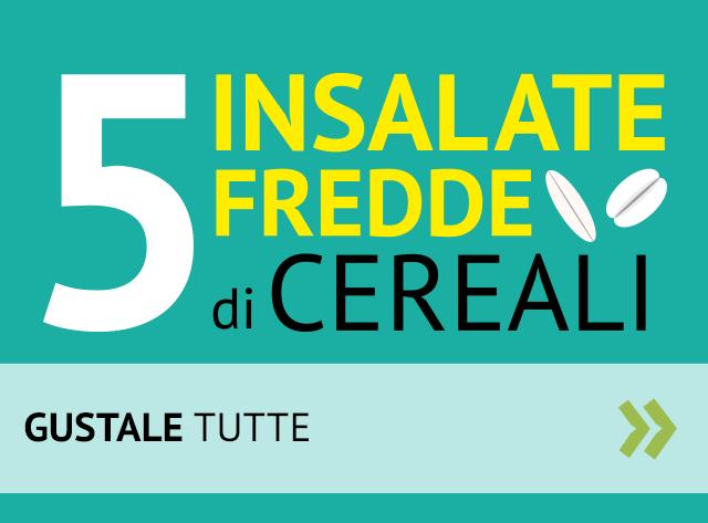 5 insalate fredde di cereali